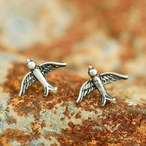 Jewelry - Minimalist Sparrow Stud Earrings